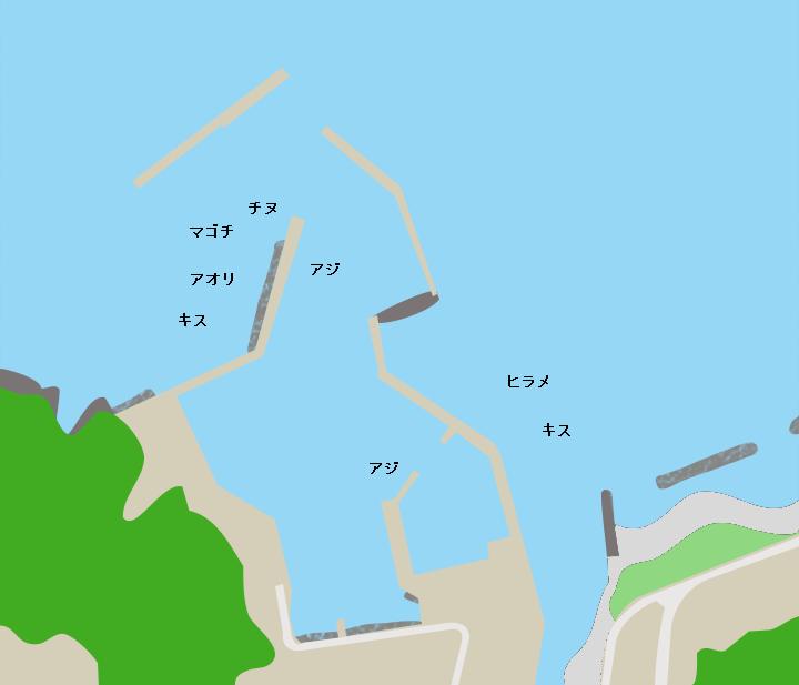 高須港ポイント図