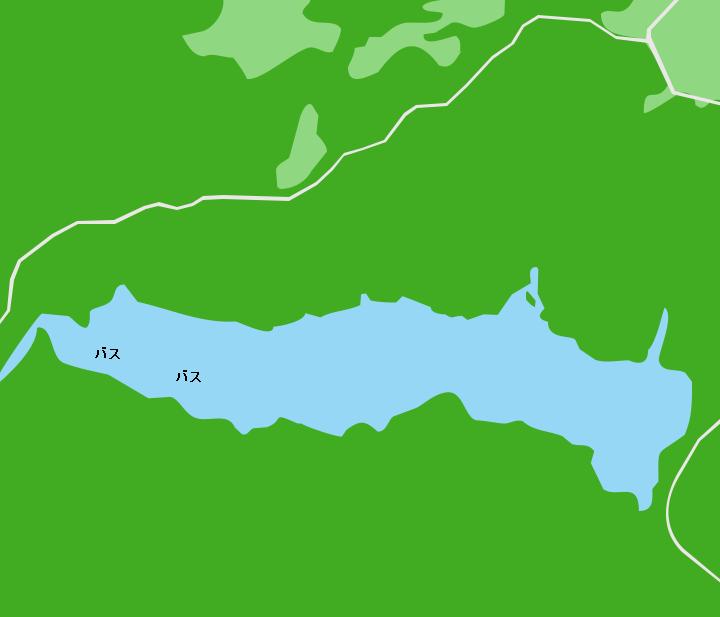 大隅湖ポイント図