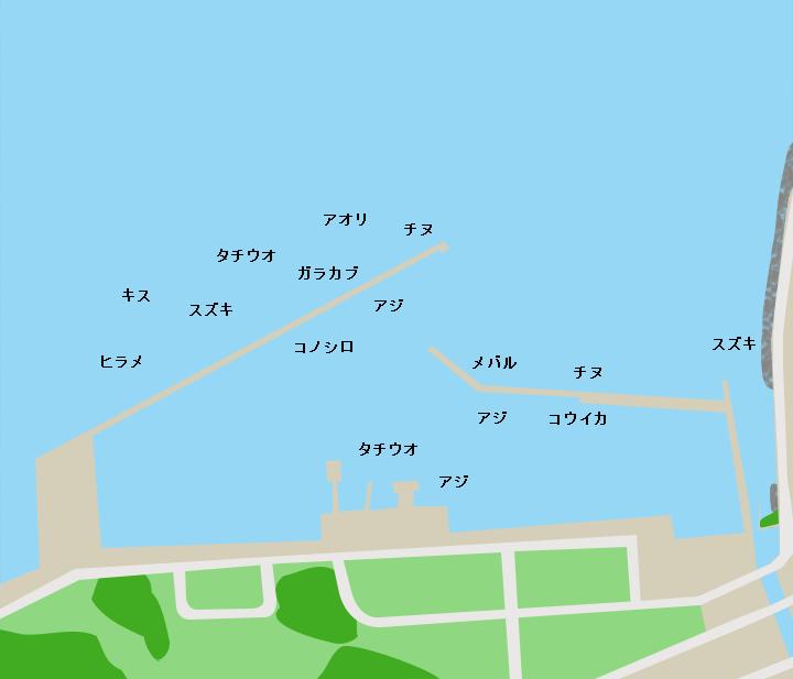 平国港ポイント図