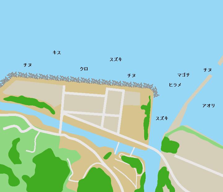 祇園之洲ポイント図
