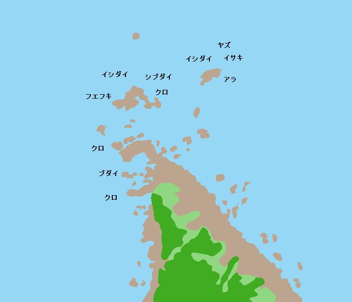 野間岬ポイント図