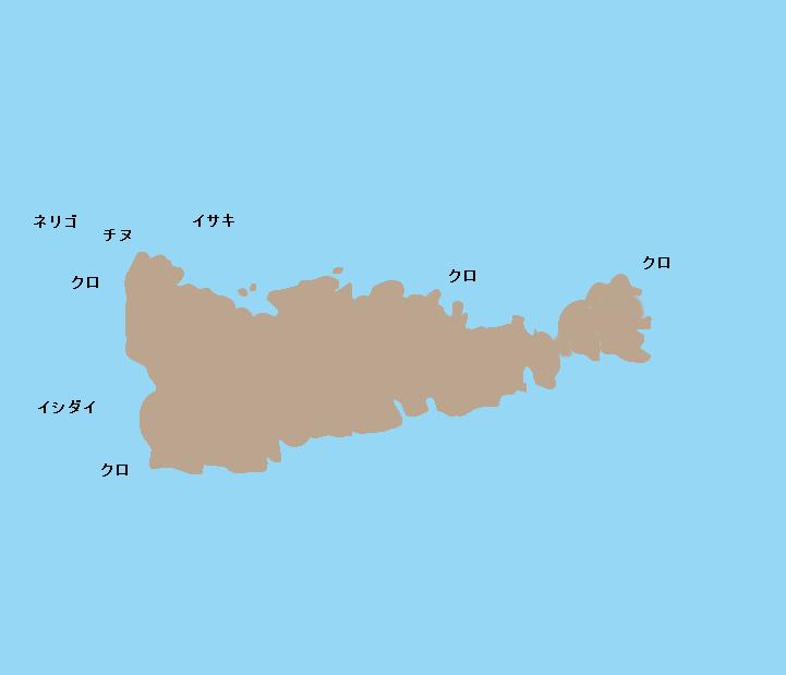 久多島ポイント図