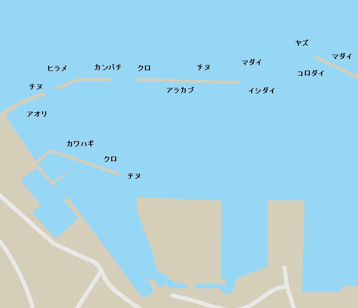 鹿児島本港ポイント図