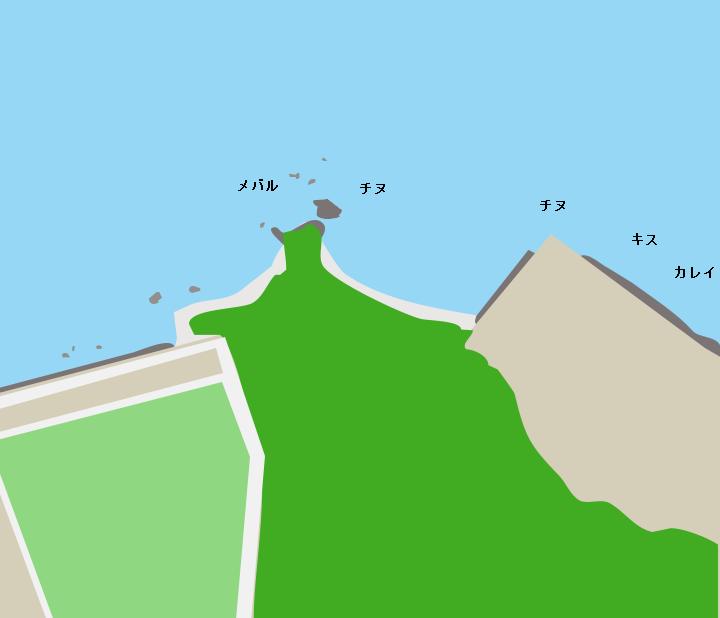本山岬ポイント図
