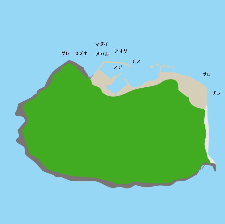 六連島ポイント図