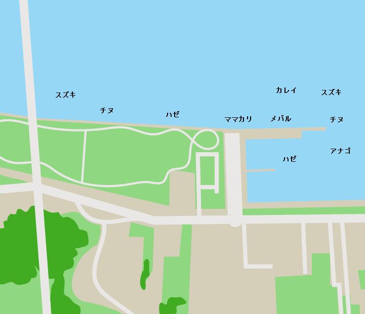 玉島みなと公園ポイント図