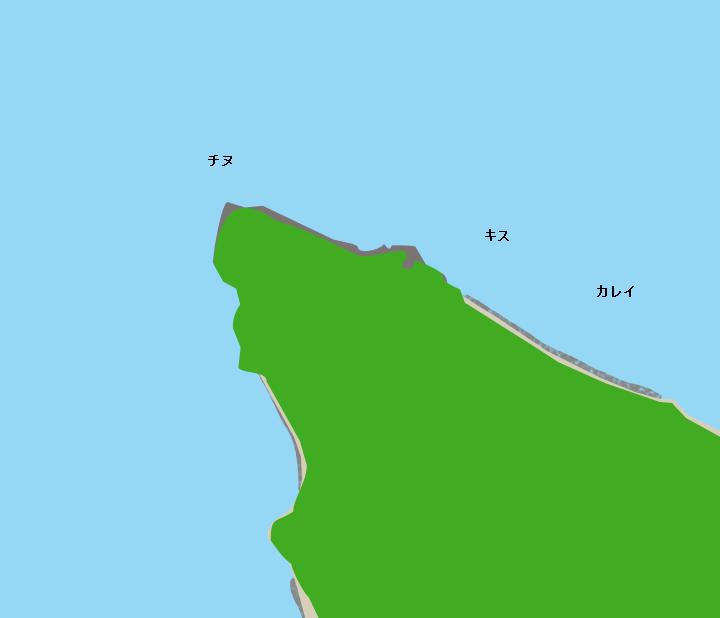 ホウ崎周辺ポイント図