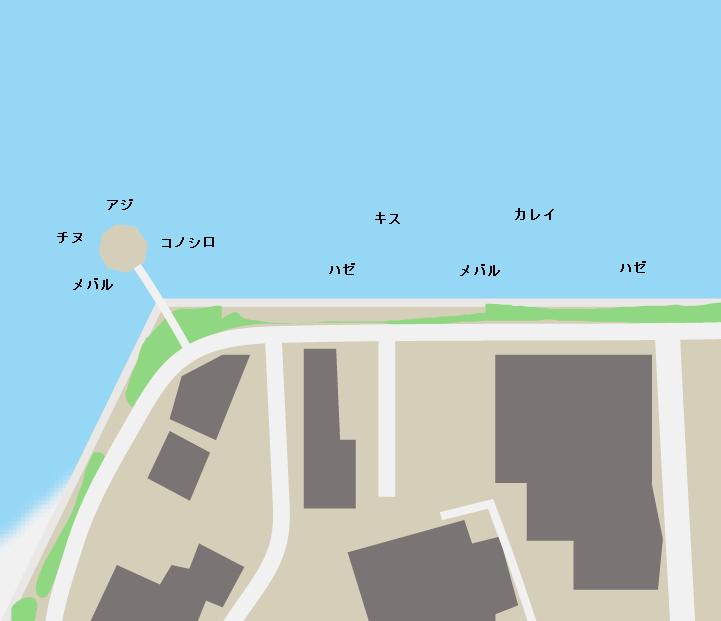 平成ヶ浜ポイント図
