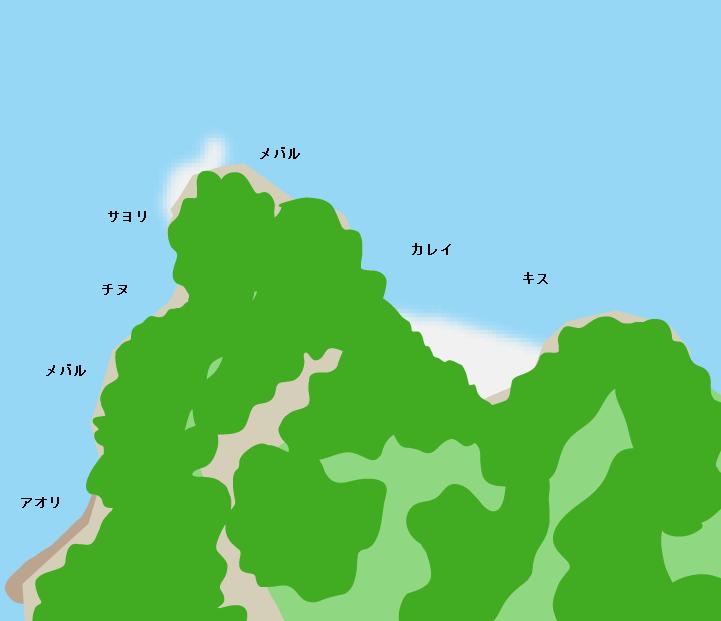 元宇品公園ポイント図