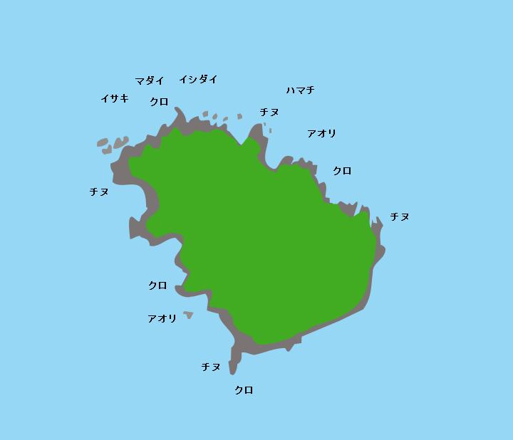 鯖島ポイント図