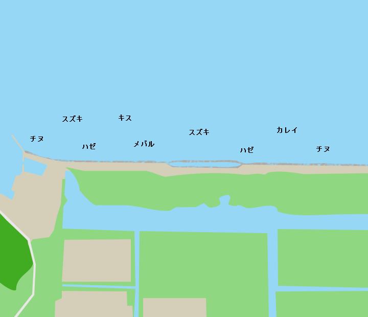 錦海湾ポイント図