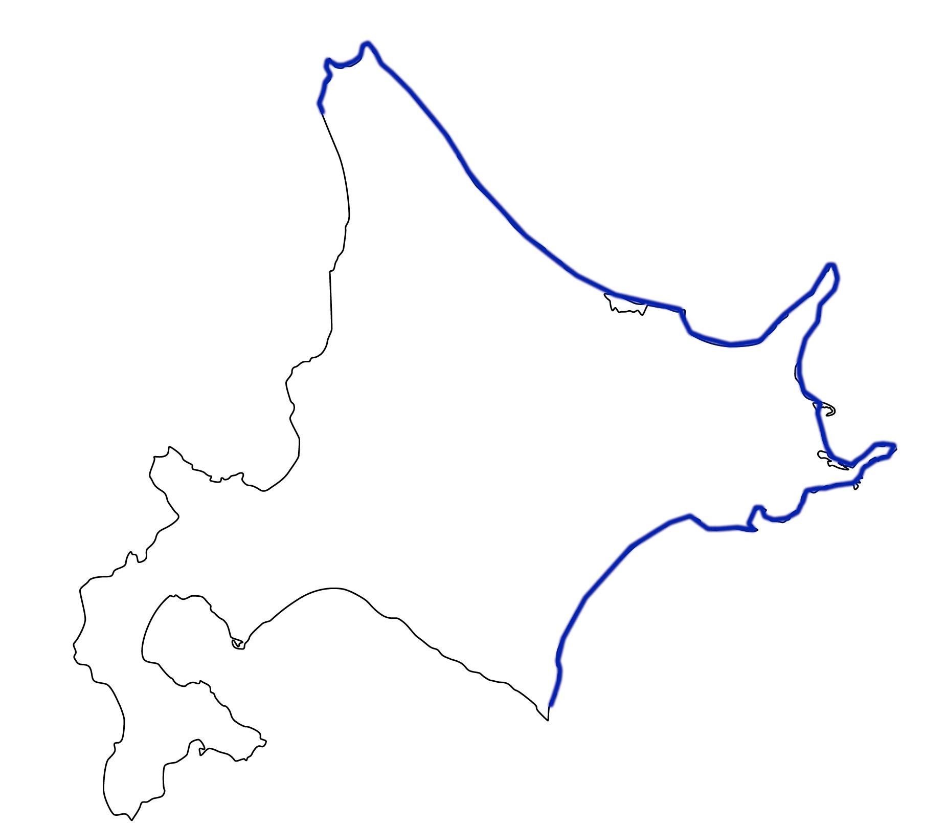 北海道でカラフトマスが釣れる範囲